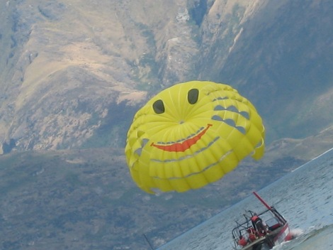 Happy Face gliding, Aotea Roa – The Maori Name for New Zealand.