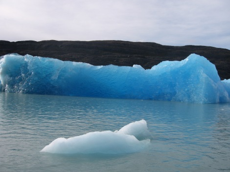 Iceberg, Los Glaciares National Park- UNESCO World Heritage Centre. Patagonia. Argentina.