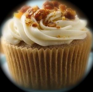 apple spice cupcake.