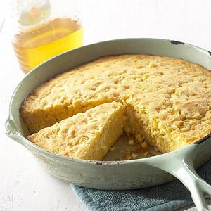 Citrusy Squash and Corn Bread
