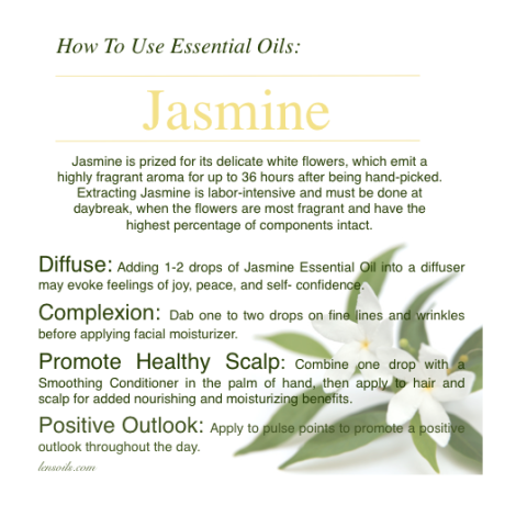How to use Jasmine Essential Oil