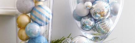 Decorating Idea: Use Your Extra Ornaments