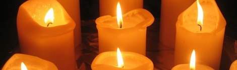 Candles Representing Sacred fires of Imbolc