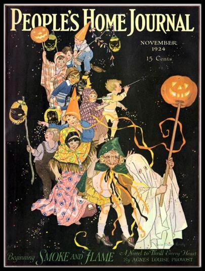 Peoples Home Journal Halloween 1924