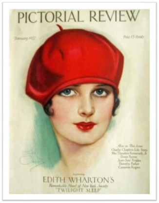 red tam Pictoral Review Jan 1927