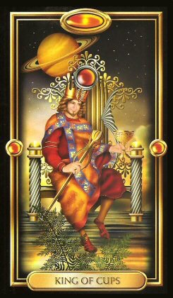 Card of the Day – King of Cups – Monday, December 11, 2017 — Tarot by Cecelia