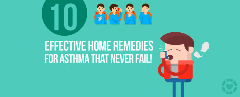Effective Home Remedies for Asthma [Infographic] — ecogreenlove
