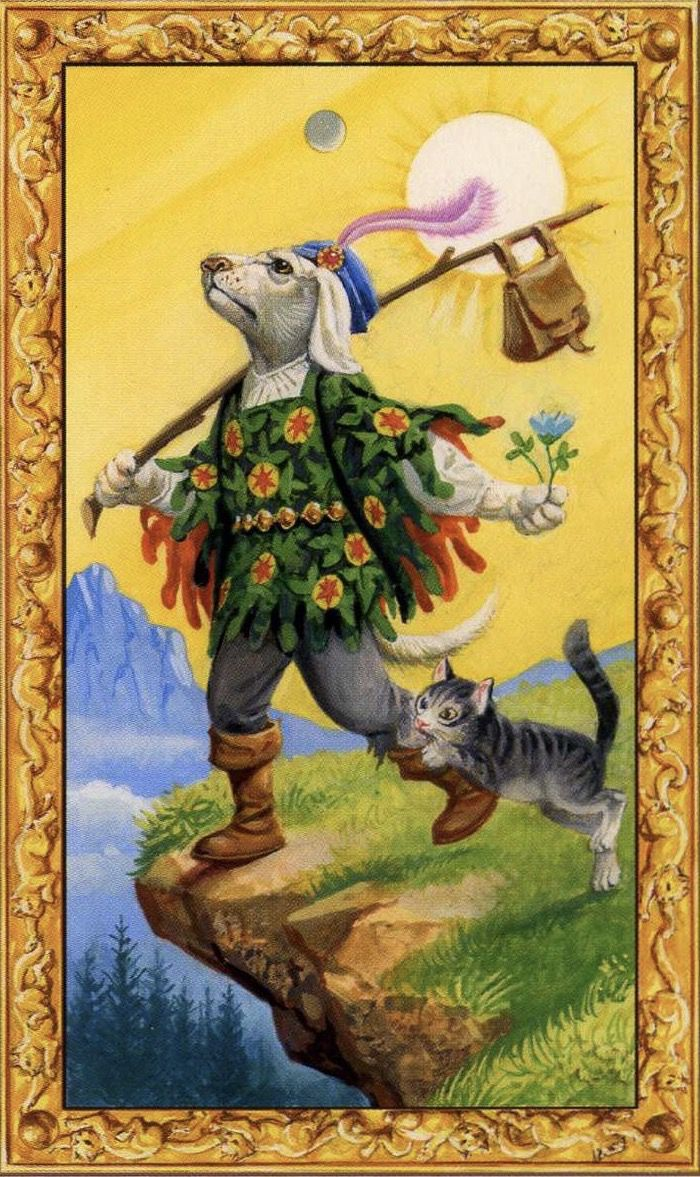 Card of the Day – The Fool – Tuesday, January 16, 2018 — Tarot by Cecelia