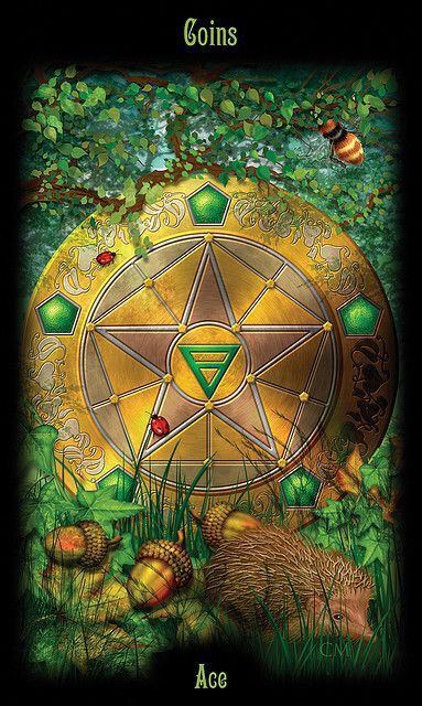 Card of the Day – Ace of Pentacles – Tuesday, February 27