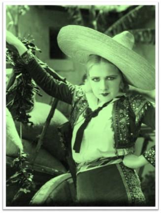 Anita Page sombrero 1920s