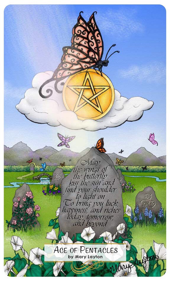 Card of the Day – Ace of Pentacles – Monday, July 16, 2018