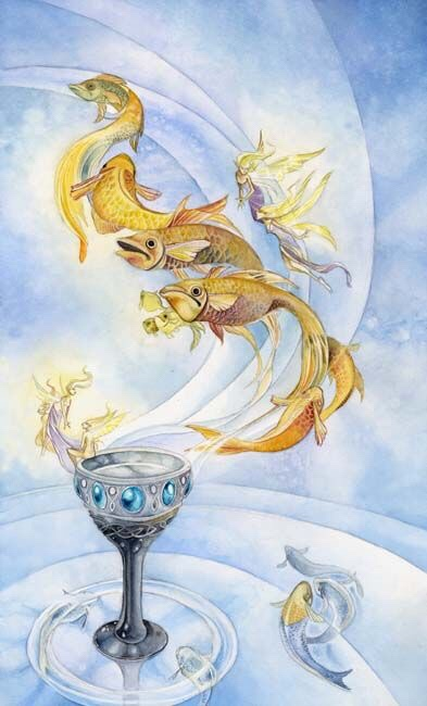 Card of the Day – Ace of Cups – Friday, August 17, 2018 — Tarot by Cecelia