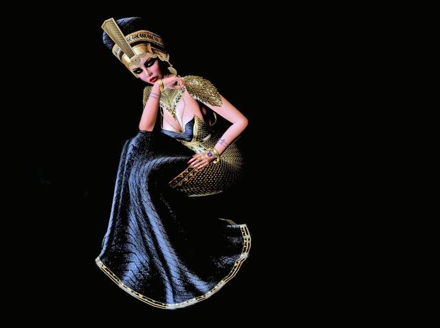 Iset full black gown Lulu - Goddess-3 (1)