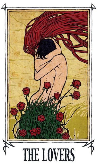Card of the Day – The Lovers – Monday, October 22, 2018 — Tarot by Cecelia