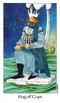 Card of the Day – King of Cups – Sunday, December 16, 2018 — Tarot by Cecelia