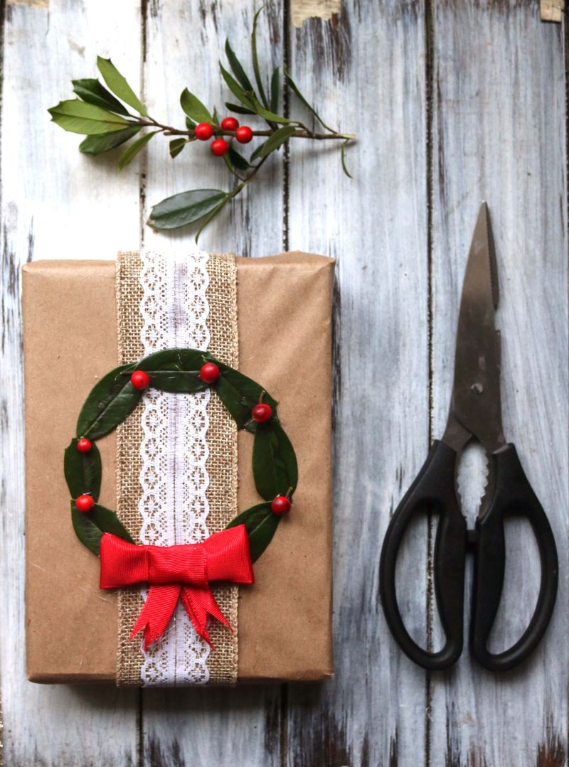 Yule Natural & Upcycled DIY Gift Wrap Ideas — Moody Moons