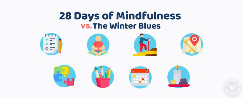 28 Days of Mindfulness to beat the Winter Blues [Visuals] — ecogreenlove
