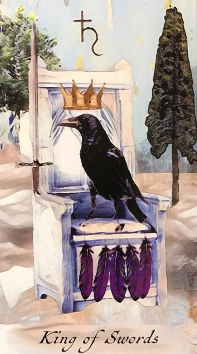 Card of the Day – King of Swords – Tuesday, March 19, 2019 — Tarot by Cecelia