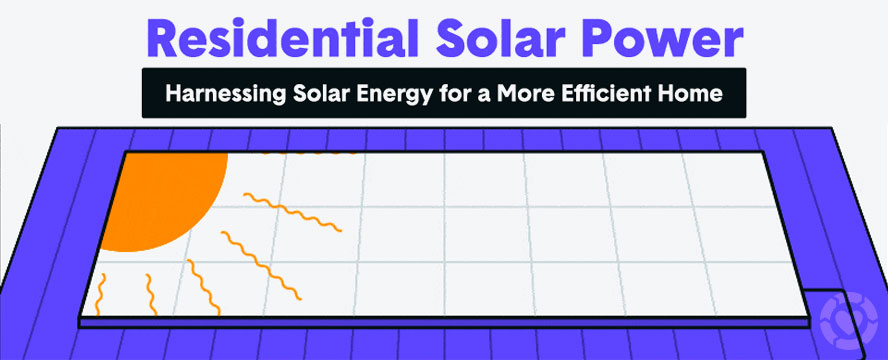 How Residential Solar Energy Works [Infographic]