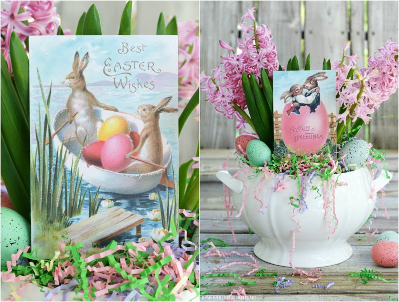 Easy 5-Minute Easter Centerpiece — Home is Where the Boat Is