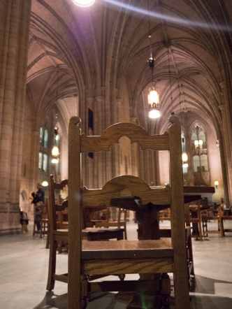 Study area in the Cathedral of Learning, photo by Dan Antion