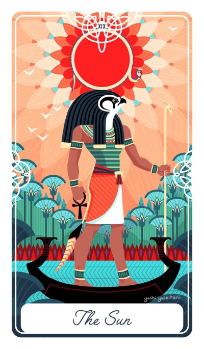 Card of the Day – The Sun – Friday, May 24, 2019 — Tarot by Cecelia