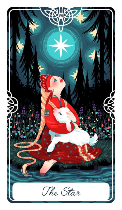 Card of the Day – The Star – Monday, May 20, 2019 — Tarot by Cecelia