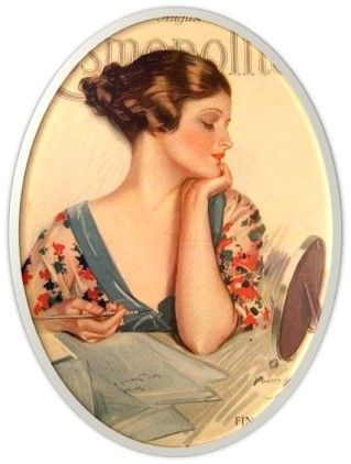Cosmopolitan magazine cover, circa 1920
