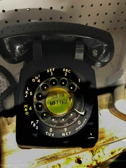 Rottary phone black Dan Antion