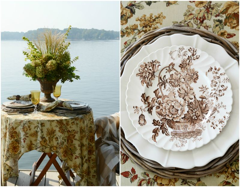 Monday Morning Blooms: Early Shades of Fall and Dockside Dining — Home is Where the Boat Is