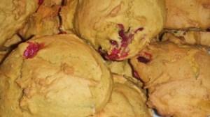 Taste of Samhain: Cranberry-Pumpkin Cookies