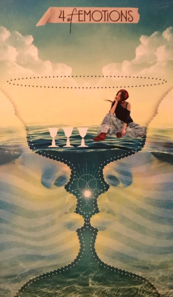 Card of the Day – 4 of Cups – Friday, October 18, 2019 — Tarot by Cecelia