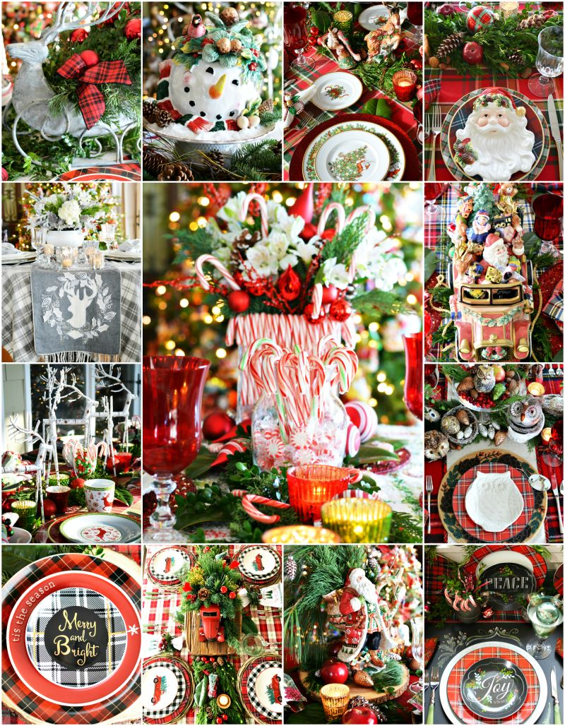 'Tis the Season: Merry and Bright Christmas Table and Centerpiece Inspiration! — Home is Where the Boat Is