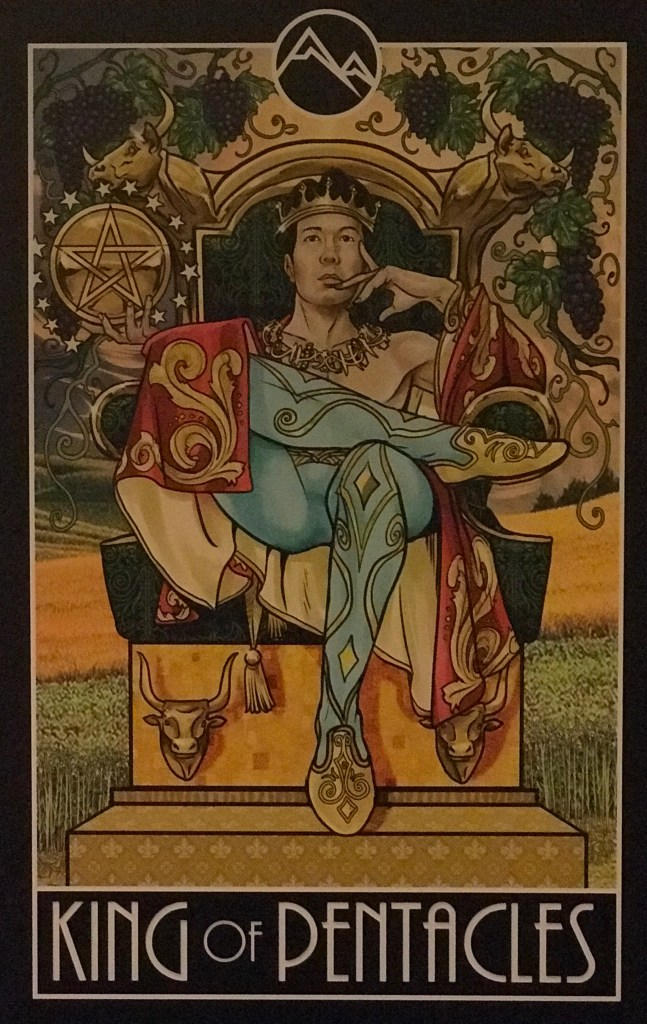 Card of the Day – King of Pentacles – Wednesday, December 11, 2019 — Tarot by Cecelia