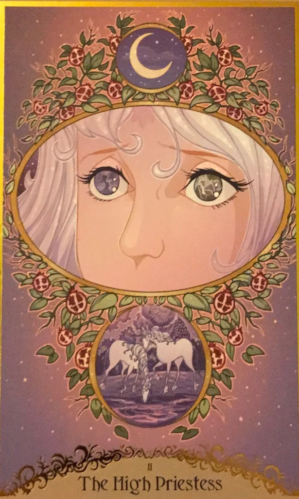 Card of the Day – The High Priestess – Thursday, December 12, 2019 — Tarot by Cecelia