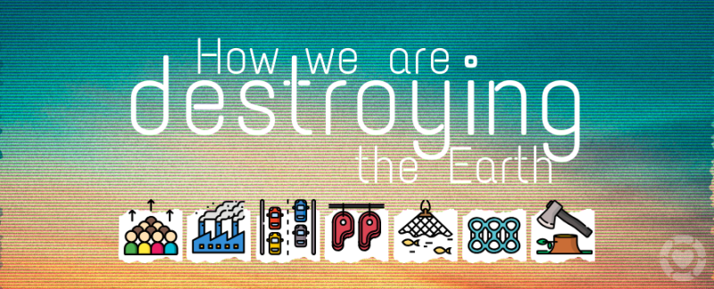 7 Visualisations that demonstrate How we Humans are Destroying Earth — ecogreenlove