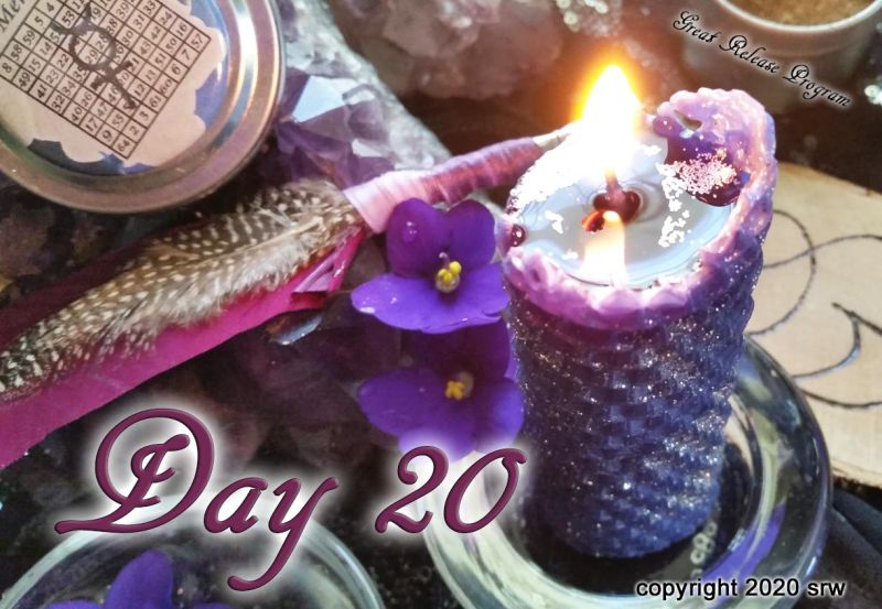 Day 20 – Great Release Program – 20 January 2020 – Monday by Silver RavenWolf — Silver RavenWolf