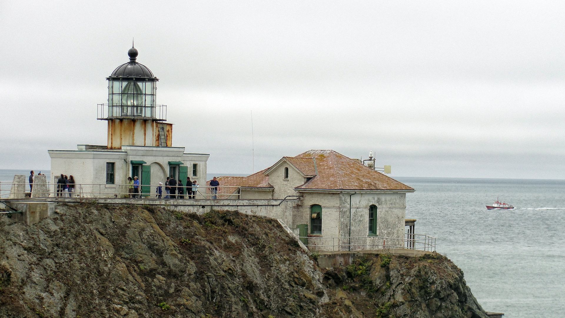Golden Gate National Recreation Area: Point Bonita Lighthouse