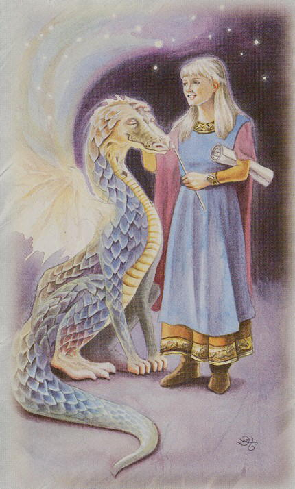 Tarot for Today – Page of Wands – Wednesday, January 22, 2020 – Tarot by Lady Dyanna — Ravenhawks' Magickal Mystical Places