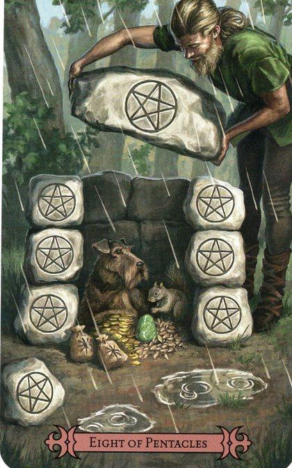 Tarot for Today – 8 of Pentacles – Thursday, February 27, 2020 – Tarot by Lady Dyanna — Ravenhawks' Magickal Mystical Places