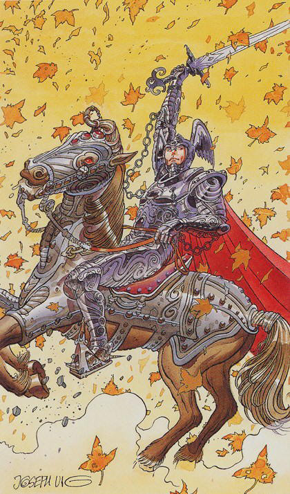 Tarot for Today – Knight of Swords – Friday, February 28, 2020 – Tarot by Lady Dyanna — Ravenhawks' Magickal Mystical Places