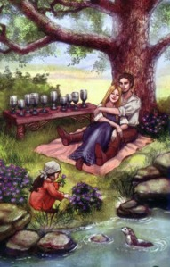 Tarot for Today -10 of Cups - Friday, May 1, 2020 - Tarot by Lady Dyanna