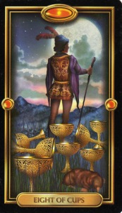 Tarot for Today -8 of cups - Tuesday, April 28, 2020 - Tarot by Lady Dyanna