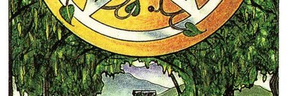 Tarot for Today -Ace of Pentacles - Wednesday, April 22, 2020 - Tarot by Lady Dyanna