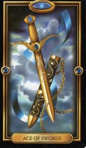 Tarot for Today -Ace of Swords - Wednesday, April 29, 2020 - Tarot by Lady Dyanna