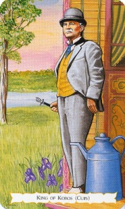 Tarot for Today -King of Cups - Thursday, April 30, 2020 - Tarot by Lady Dyanna