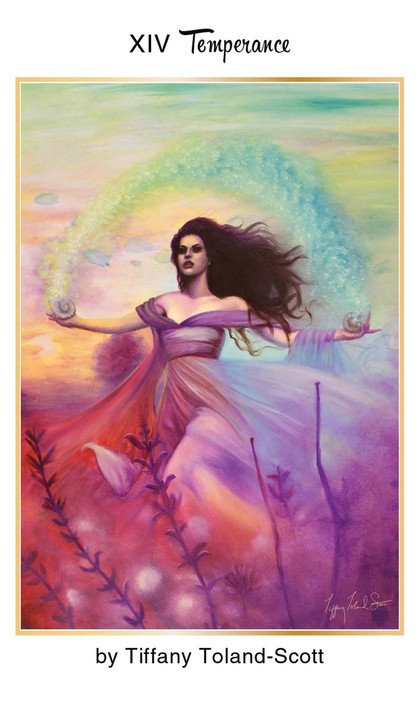 Tarot for Today -Temperance – Friday, April 10, 2020 – Tarot by Lady Dyanna — Ravenhawks' Magickal Mystical Places