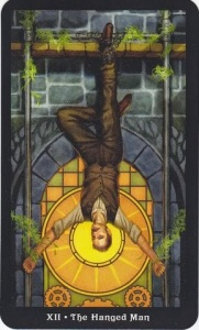 Tarot for Today -The Hanged Man - Saturday, April 25, 2020 - Tarot by Lady Dyanna