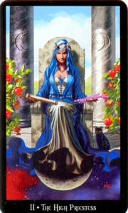 Tarot for Today -The High Priestess - Friday, April 24, 2020 - Tarot by Lady Dyanna