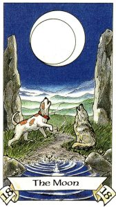 Tarot for Today -The Moon - Saturday, April 18, 2020 - Tarot by Lady Dyanna